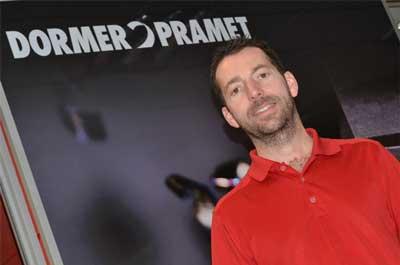 Ricky Payling, application specialist at Dormer Pramet