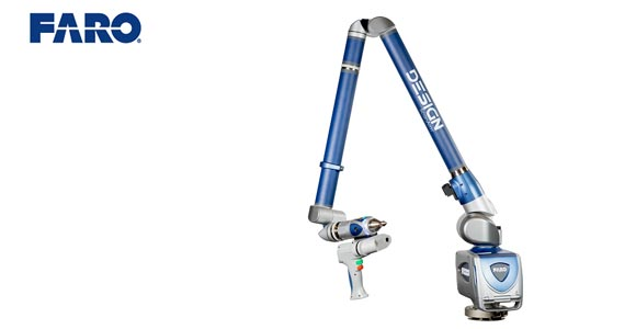 FARO Releases High-Resolution 3D ScanArm for Reverse Engineering and CAD-Based Design Applications