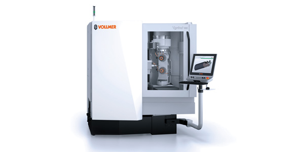 Vollmer shows tool grinding  in a new dimension