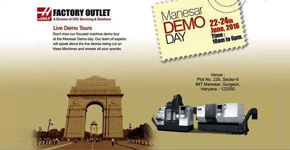 Haas Demo Days held at IMT Manesar
