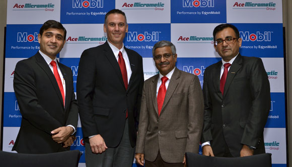 ExxonMobil collaborates with Micromatic Machine Tools as an official lubricant partner
