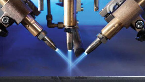Automation in sheet metal cutting & welding
