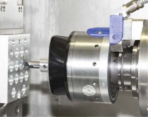 TOOLTRONIC-CAT: Machining of trumpet form with an oval and elliptic profile in AlSi-alloy.