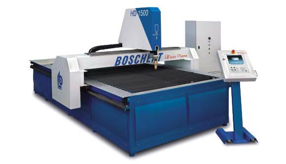 New from Boschert: Flatbed plasma cutting machines
