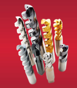 The Dormer brand of round tools provides options for milling, drilling and threading.