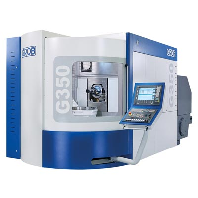 Horizontal 5 axis machining centers, Grob Machine Tools