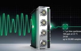 EtherCAT measurement technology modules – extremely accurate, fast and robust