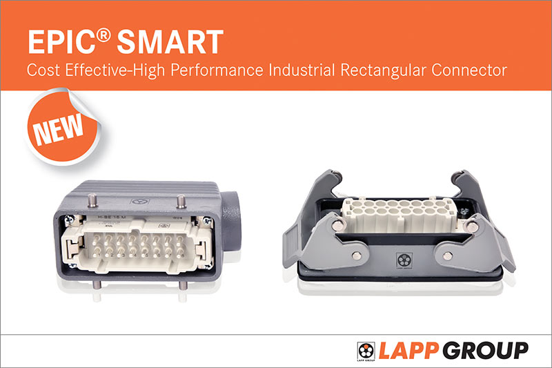 LAPP India Launches EPIC® SMART Industrial Connectors at IMTEX 2017