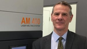 Mark Kirby Additive Manufacturing Business Manager for Renishaw Canada