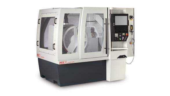 ANCA's LinX cylindrical linear motor ensures rigidity to deliver a superior finish on cutting tools