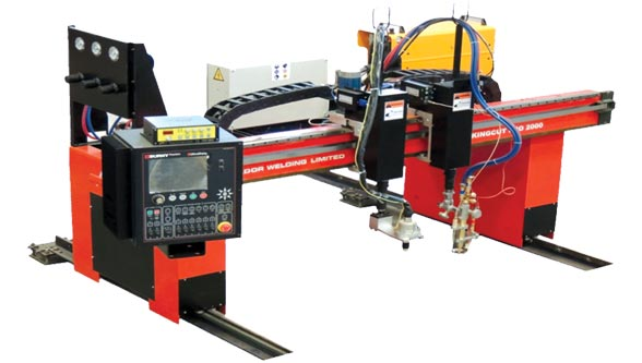The Large Gantry Type CNC Cutting Machine, ADOR Welding