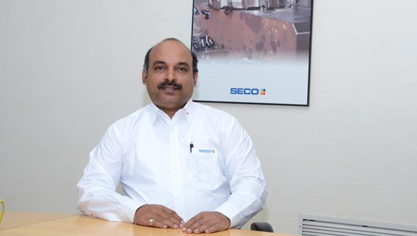 Mr. Atul Mohkhedkar, General Manager (Production) of Seco Tools India