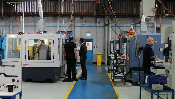 Sutton Tools is winning market share, achieving a 10% improvement on its surface finish compared to its competitors using ANCA's linear technology