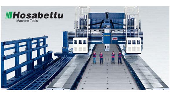 Double column machining center, Hosabettu Heavy Machinery LLP