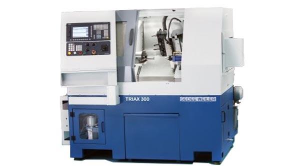 CNC Lathe TRIAX 300 MT, Gedee Weiler