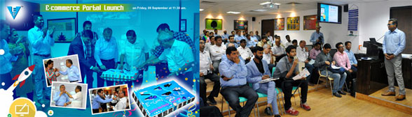 The Launch Event at the Vashi Electricals Corporate Office, based in Mumbai.