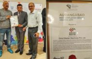 Grind Master receives  Aurangabad Best Employer Brand Award
