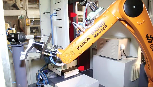 Grind Master transforms foundries with KUKA robots