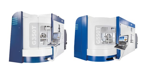 5-axis universal machining centers from GROB