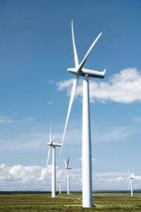 Safe monitoring of wind turbines