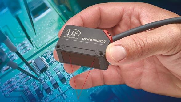 Smart laser triangulation displacement sensor, Micro-Epsilon