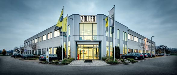 ZOLLER Headquarter Pleidelsheim outside view