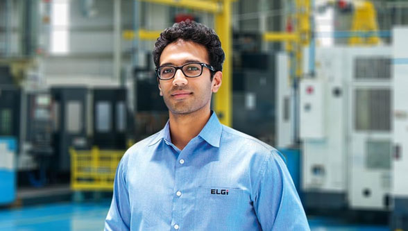 Home grown technology leading the charge towards industry dominance: The saga of ELGi