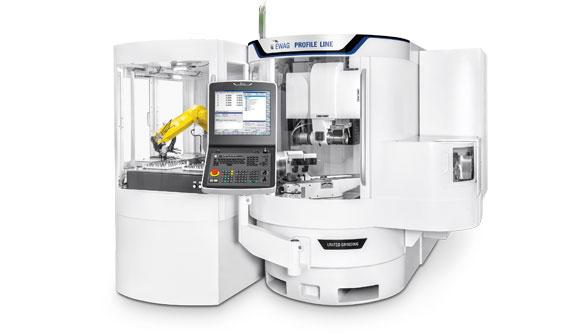 EWAG PROFILE LINE : high precision & flexible 5-axis grinding centre