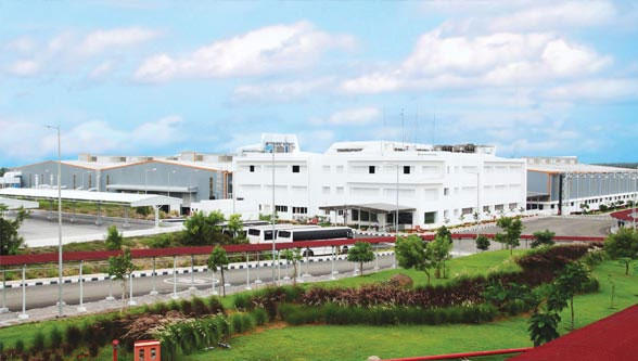 ELGi's sprawling manufacturing facilities at Coimbatore