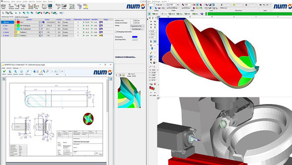 NUM launches major new release of NUMROTO tool grinding software