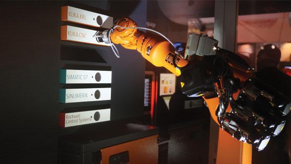 Realtime communication with KUKA.PLC mxAutomation