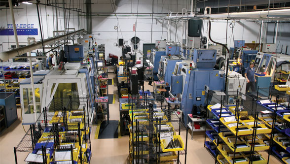 Tru-Edge Grinding increases productivity by changing power infrastructure