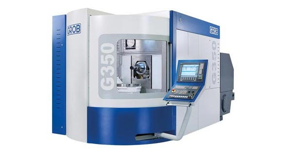 GROB Systems Highlights Second Generation of G350 5-Axis Universal Machining Center