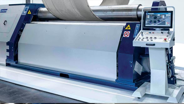 Rolling thick steel plates: The importance of the rolling machine