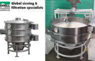 Vibro screen separator for sieving spices