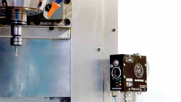 TBD HS for non-contact high speed tool breakage detection
