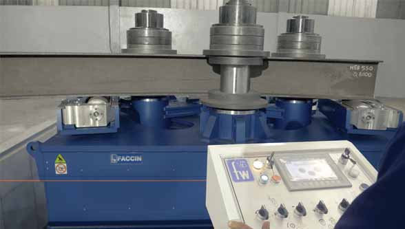 Precise profile bending with Faccin's Angle Rolls
