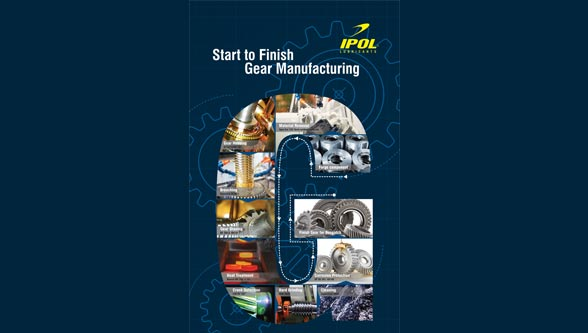 IPOL lubricants for gear manufacturing operations