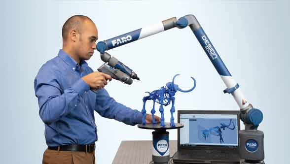 FARO ScanArm 2.5C brings color to 3D Scanning