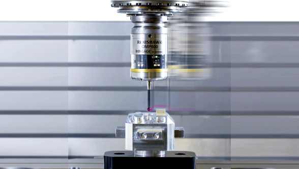 Speed up on-machine measurement with SupaTouch technology, Renishaw