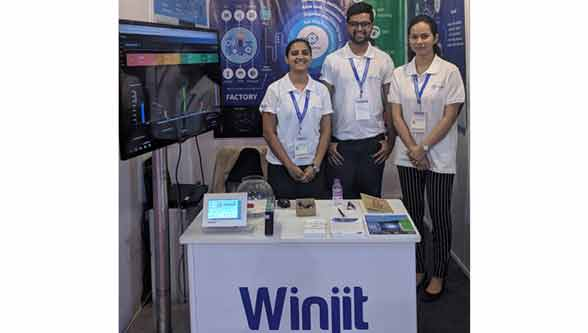 Winjit launched its Industrial IoT version of its product IoTSense at the Automation Expo 2018, Mumbai