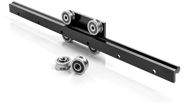 Design outside the box: Modular O-Rail from Rollon enables infinite combinations