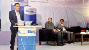 Panel at the  Blaser Swisslube Productivity Trophy Awards 2017-18