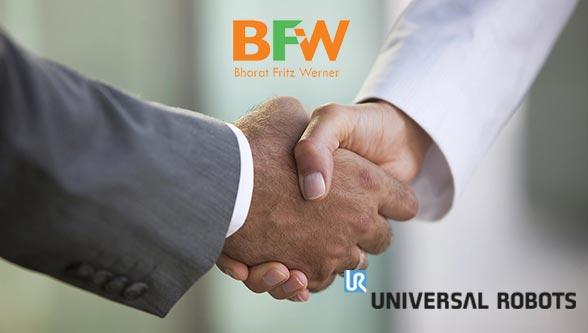 Bharat Fritz Werner Ltd and Universal Robots Partnership