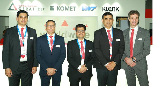 The CERATIZIT Group presents its cutting tool competence brands for India