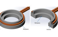 Induction heating with shorter cycle times
