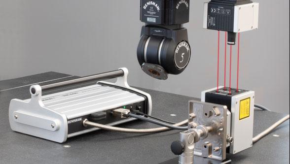 Renishaw XM-600 system for CMM error mapping
