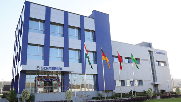 Schmersal India, production facility and headquarter, Ranjangaon, Pune, India