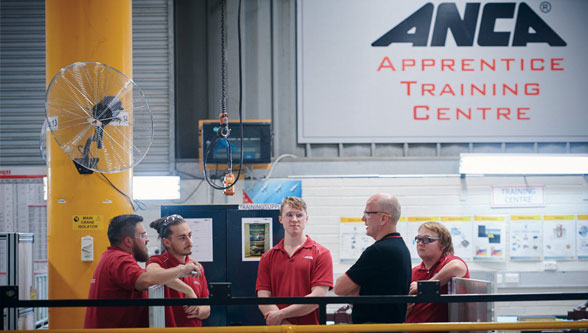 ANCA appoints Daniel Shepley as Apprentice of the Year