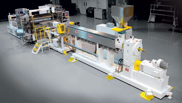 PC-based control a standard for sheet extrusion